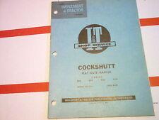 540 550 560 570 Cockshutt Tractor I&T Flat Rate Manual