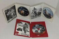 Lot Of 3 Sony PlayStation 3 PS3 Games Battlefield 3 L.E., 4 & Bad Company 2 CIB