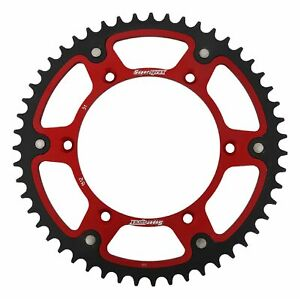 New Supersprox Stealth Sprocket, 51T for Gas-Gas EC125 03-15, Red