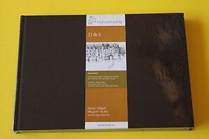 Hahnemühle Skizzenbuch A6 A5 A4 A3  D&S schwarz Klebebindung Größe wählbar NEU!