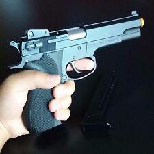 Best All Metal Slide Spring Airsoft BB Gun Firepower .45 Pistol 328 FPS BAXS B1