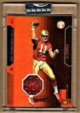 ALEX SMITH - 2005 TOPPS PRISTINE UNCOMMON UNCIRCULATED JERSEY RC /100