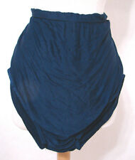 Vintage SPEEDO Dark Blue Double Lined High Rise Swimsuit Antron Nylon 40