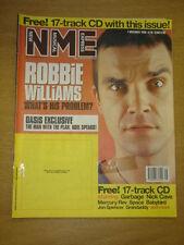 NME 1998 NOV 7 ROBBIE WILLIAMS OASIS GARBAGE SPACE