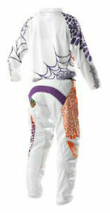Troy Lee Designs Girls Kit Voodoo White TLD Motocross Mx Enduro Quad