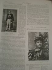 Photo article interview Greece ambassador in london Dimitry Metaxas 1897