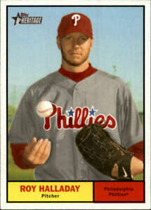 2010 Topps Heritage #286 Roy Halladay Blue Jays NM-MT