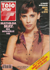 Tele Star N° 823 Du 06/07/1992 - Mathilda May - Clint Eastwood - Jack Palance