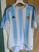 Argentina National Team home shirt 04/06 Adidas Size Medium M