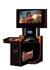 RAMBO ARCADE Shooting MACHINE by SEGA (Excellent Condition)
