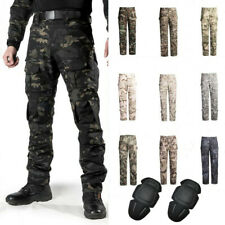 Army Military Mens Combat Pants Tactical Cargo Trousers Casual Pants Camouflage