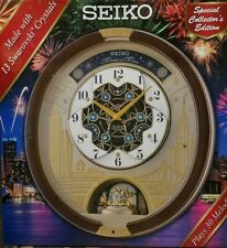 Seiko Melodies in Motion 2019 Animated Musical Wall Clock Collectors Edition