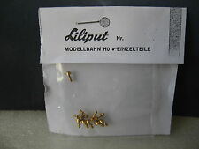 LILIPUT # 8205/10 Tischlampen RHEINGOLD MITROPA Salonwagen / CIWL Speisewagen