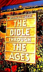 The Bible Through the Ages by Reader's Digest, Illustrated, Like NU