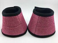Soft Neoprene Glitter Bell Boots / Overreach - Equine