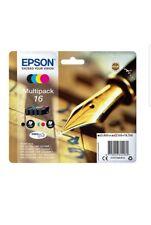Epson Original C13T16264012 Filler, Durabrite and Waterproof Ink (Multipack)