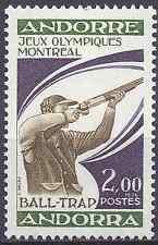 ANDORRE FRANÇAIS N°256 JEUX OLYMPIQUES DE MONTRÉAL 1976 NEUF ** LUXE MNH