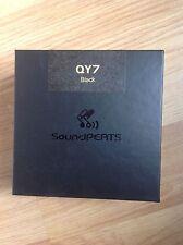 SoundPEATS QY7 Bluetooth 4.1 Wireless Sports Earphones, Black, New & sealed