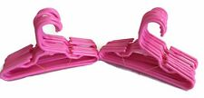 """24 Pink Plastic Hangers(2 Dozen) made for 18"""" American Girl Doll Clothes"""