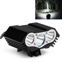 LED Bike Light Set Bicycle MTB Front Rear Lamp 18650 Rechargeable Headlight Lamp