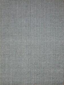 5'x 8' Rug   Handmade Random Cut Dhurrie 100 % Wool Light Black Area Rug