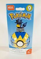 Pokemon Buildable MEGA CONSTRUX MURKROW Series 9 Figure & Poke Ball - 28 Pieces