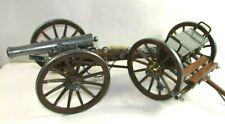 Civil War 1861 Dahlgren Cannon Model & Limber Made in Spain