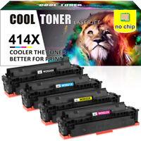 4PK No Chip Compatible for HP 414X W2020X Toner M454dn M454dw M479fdn M479fdw
