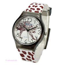 Armbanduhr Uhr Leo Leopard - Wildlife - Raubtier - animal