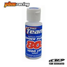 Team Associated Factory Team 80 Weight RC Silicone Shock Oil 2oz Bottle AS5425