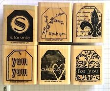 Stampin' Up! Too Terrific Tags smile thank you fleur-de-lis yum always for you
