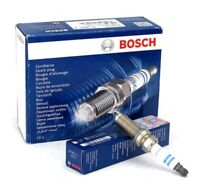 Bosch Set of 4 Double Iridium Spark Plugs 0242135570 - GENUINE - 5 YEAR WARRANTY