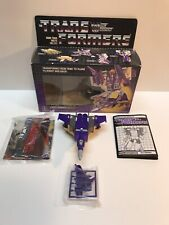 Blitzwing 100% Complete 1985 Hasbro G1 Transformers with box Nice!!