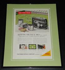1959 Kodak Signet 80 11x14 Framed ORIGINAL Vintage Advertisement