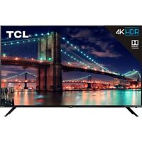 "TCL 65"" 6-Series 4K UHD Dolby Vision HDR Roku Smart TV - 65R615"