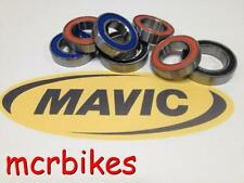 MAVIC KSYRIUM/ COSMIC CARBONE/ R-SYS FRONT WHEEL QR HUB BEARING KIT CHROME STEEL