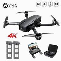 Holy Stone HS720 FPV GPS Drohne mit 4K Kamera HD Bürstenlos Quadrocopter 2 Akkus