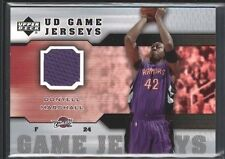 DONYELL MARSHALL 2005/06 UPPER DECK UD GAME USED JERSEY CAVALIERS SP $12