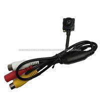 PAL 800TVL CMOS CCTV Wired Covert Screw Pinhole Camera Home Security Spy Cam UK