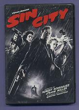 Sin City (DVD, 2006) Buena Vista Entertainment Rated R Bruce Willis Dark Horse