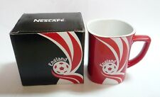 "NESCAFE COFFEE Red FIFA Brazil Mug ENGLAND World Cup 2014 Nestle 3.5"" Malaysia"