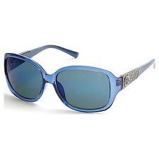 Gafas de sol de mujer ovaladas azules, Protección 100% UV