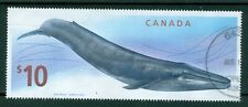 "Canada – $10 Scott # 2405 – ""Blue Whale – used"