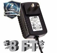 [UL] 8FT AC/DC Power Adapter for Yamaha PSR-E413 E403 Keyboard