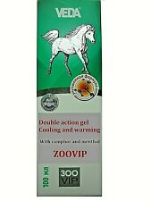 ZooVip Gel double action cooling and warming with camphor and menthol, 100ml