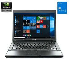 Dell Latitude E6500 Core 2 Duo P8700   8GB RAM   120GB SSD Windows 10 Pro Laptop