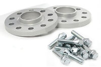 25mm Hubcentric Spacers for Audi A3 2005> Alloy Wheels. Pair + Bolts