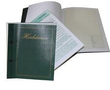 Herbarium blanko Sammelbuch Pflanzen Kräuter Heilpflanzen PTA  Buch  41418 (M)