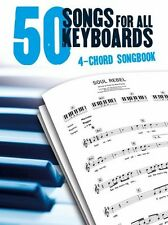 50 Songs For Keyboards In Only 4 Chords The Killers Beatles Pop Rock Music Book
