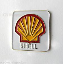 SHELL OIL GAS COMPANY CAR LOGO EMBLEM PIN LAPEL BADGE 1 INCH
